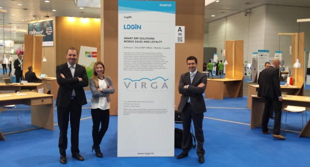 LogIN na CeBIT-u 2015 Hannover