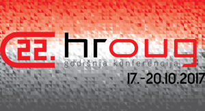 Login na 22. HROUG konferenciji