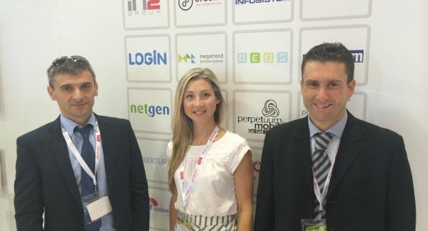 Tvrtka LogIN – izlagač na CeBIT-u, internacionalnom sajmu informacijske tehnologije u Istanbulu.