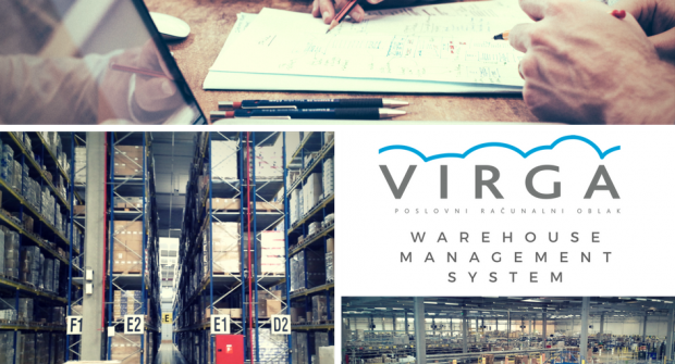 Novi ERP VIRGA paket – WMS – Skladište & Logistika
