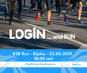 LogIN … and RUN 2019